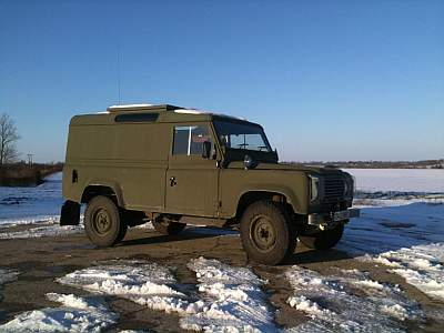 Murpha - the Land Rover 110