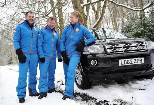 Land Rover Supports Lewis Moody in 'Greatest Challenge'